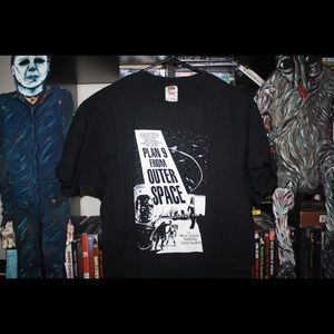 Horror Halloween Plan 9 from Outer Space shirt